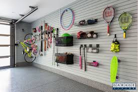 Garage Interior Design by Sports Equipment U0026 Overhead Storage Organization Garageguru