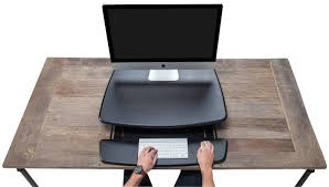 Turn Desk Into Standing Desk by Amazon Com Varidesk Height Adjustable Standing Desk Pro 30