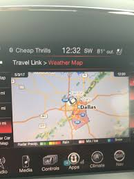 Weather Map Dallas by Weather Alerts On Uconnect