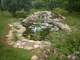 Backyard Garden Ponds Triyae Com U003d Koi Fish Backyard Pond Various Design Inspiration