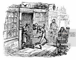pub vintage and historic cartoons