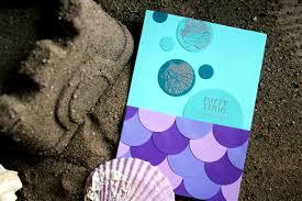 mermaid party invitations by denna u0027s ideas denna u0027s ideas