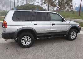 white mitsubishi montero 2002 mitsubishi montero sport xls 4wd autos nigeria