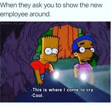 retail hell underground movie theater problems showing the new