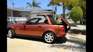 sale 2000 mercedes benz slk 230 designo hardtop convertible