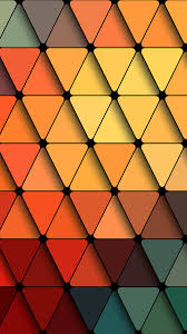 pattern wallpaper trainagles rainbow color abstract pattern android wallpaper