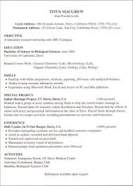 intern sample resume career center internship resume sample