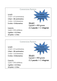 imperial to metric conversion worksheets converting between metric and imperial units by fionajones88