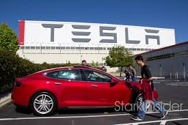 tesla factory in photos tesla s factory pickup experience fremont stark insider