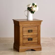 nightstand simple classic natural solid oak drawer nightstand