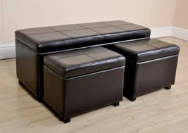 furniture attractive storage ottoman coffee table with various
