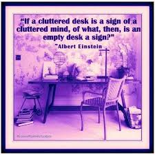 Albert Einsteins Desk Desk Quotes Like Success