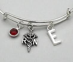nurse quote gifts rn bangle bracelet adjustable bracelet registered nurse