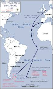 Awc Map Maps Falklands Malvinas