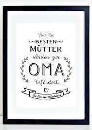 sprüche für oma originaldruck kunstdruck mütter oma a4 spruch geschenk muttertag
