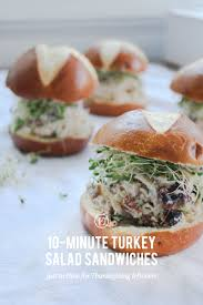 thanksgiving dinner salad 10 minute turkey salad sandwiches for thanksgiving leftovers the
