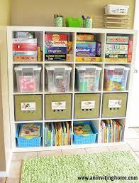 organisation chambre enfant meuble cases jouets enfants chambre organisation