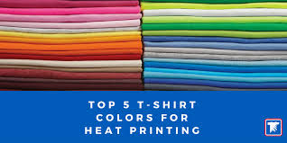2017 popular colors top 5 most popular t shirts to decorate