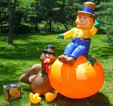 inflatable halloween decorations outdoor the real like