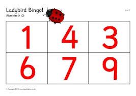 printable number bingo lotto games sparklebox