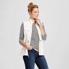 Womens Military Vest Merona Coats U0026 Jackets Target