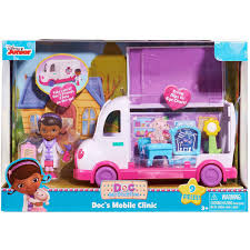 Doc Mcstuffins Home Decor Doc Mcstuffins Doll Mobile Clinic Walmart Com