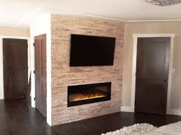 dry stack stone veneer fireplace home fireplaces firepits