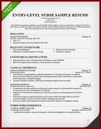 Entry Level Nurse Resume Sample by 15 Cv For Under Graduation Freshera Sendletters Info