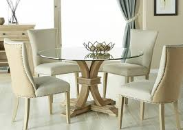 60 round glass dining table dining room inspiring round glass dining table set round glass