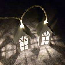 battery powered house lights battery operated led string light warm white christmas wedding