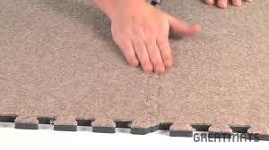 basement carpeting royal interlocking carpet tiles youtube