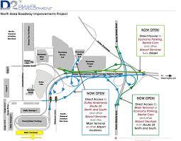 Washington Dca Airport Map by D2 Projects Roadway Improvements Metropolitan Washington