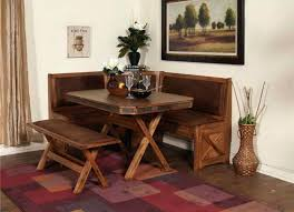 kitchen corner booth dining set with dining room table