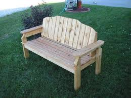 cedar porch bench by bhack lumberjocks com woodworking community