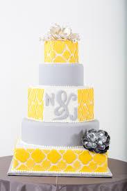 yellow and grey wedding cake idea in 2017 bella wedding