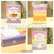Sabun Thailand jual fruitamin soap 10in1 by wink white original thailand