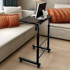 soges adjustable lap table portable laptop computer stand desk