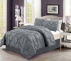Home Design Down Alternative Comforter by Furniture Awesome Solid Grey Comforter Set King Size Bedding