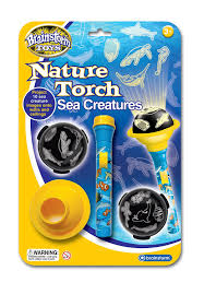 brainstorm toys nature torch sea creatures amazon co uk toys u0026 games