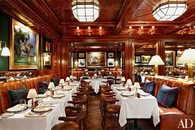 Ralph Laurens Polo Bar Debuts In Manhattan Architectural Digest - Ralph lauren dining room