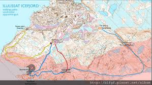 canap駸 atlas 格陵蘭自助旅行 ilulissat hiking from blue line 藍線健行 ting s