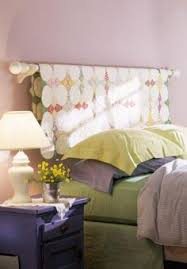 Faux Headboard Ideas by Add Shabby Chic Touches To Your Bedroom Design Headboard Ideas