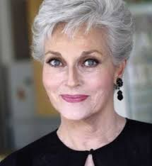 long gray hairstyles for women over 50 short casual gray hairstyles with side bangs for square faces