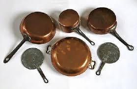 batterie de cuisine en cuivre a vendre batterie cuisine cuivre 100 images vente privee ustensiles