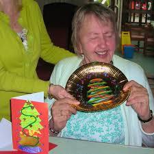 adaptive art paper plate u0026 wool christmas decoration