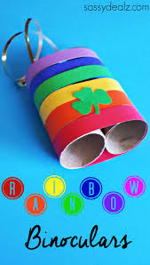 rainbow toilet paper roll binoculars craft for kids crafty morning