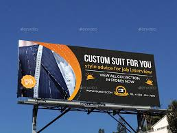 tailor fashion billboard template by owpictures graphicriver