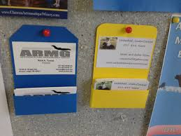 tnc hanging business card holder
