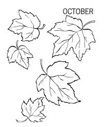 october autumn leaves coloring pages bulk color