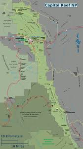 capitol reef national park map capitol reef national park travel guide at wikivoyage